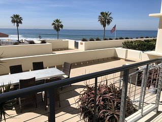 Luxury Oceanfront 2BR/2BA Coronado Shores condo w/ large terrace La Sierra Bldg