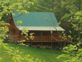 Cabin in the Woods by South Holston River