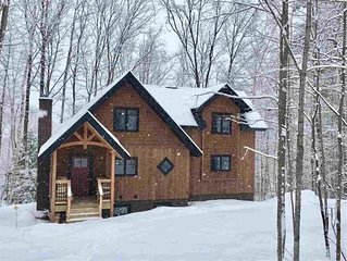 NEW - Beautiful mountain home steps to Okemo, Great for Wedding stays!