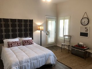 Quiet Master Suite w/Private Bath and Entry.