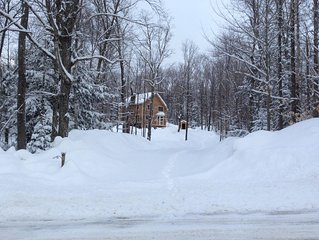 Privately located, year-round, single family home for rent, close to Mt. Snow!