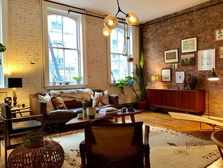 Classic Soho Loft with Designer Interior
