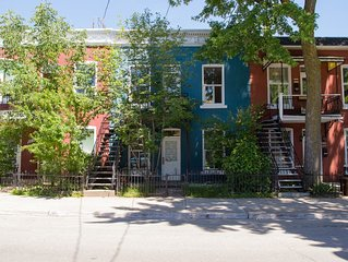 Charming 3 bedroom upper duplex condo in the heart of the Plateau Mont-Royal
