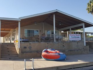 River Front Vacation home centrally located on the water in Parker AZ!