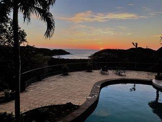 Stunning Ocean View Villa : Villa Laguna with private pool & BBQ