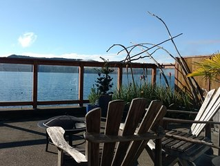 Come experience Hood Canal at The House at the End of the Road, Hoodsport WA