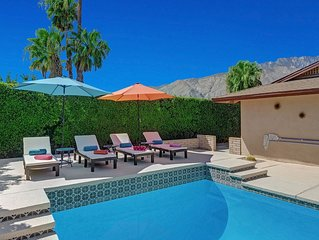 Quiet Palm Springs Pool Home, Minutes from Downtown