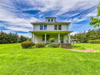 Updated Victorian home with private pool, expansive backyard