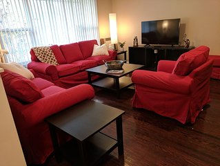 Beautiful Family-Size Home w/ Large Bright Rooms.