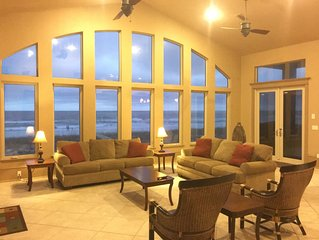 Bellissimo, Gulf Front, Blcony Pool, 3 Master Suites Facing Gulf (BeachRoad98)