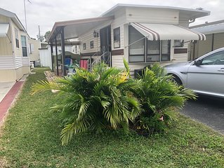 1 bdrm/1 ba trailer in Largo/CLEARWATER. Safe, friendly park.