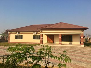 Gorgeous brand new 3 bedroom fully furnished, house in Lusaka, A/C, WiFi- value!