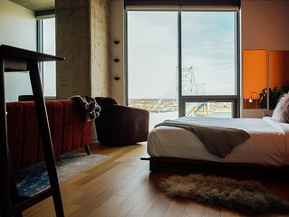 Trendy & Bright Penthouse by Coral Homes