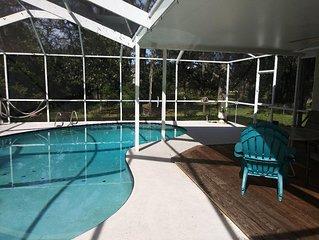 Serene Scene Country Setting Pool Home