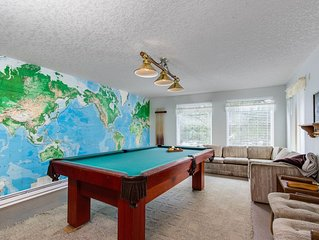 Comfortable house w/ pool table & Ping-Pong - beach down the street
