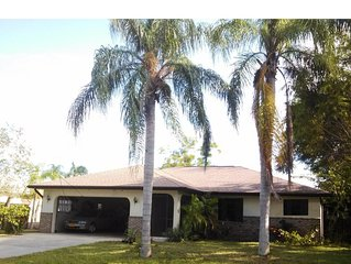 Tranquil 2BR, 2Bath home with private pool and fenced back yard