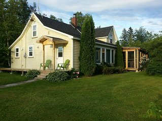 Quaint Cottage minutes from Kouchibouguac National Park - sleeps 9 comfortably
