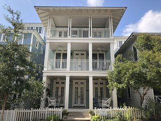 Southern Comfort in SEASIDE; 6 BR of refined comfort, bikes, pools, relax, ENJOY