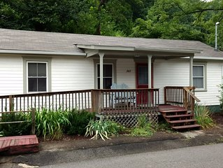 Affordable and adorable, well-appointed house in the mountains. Historic setting