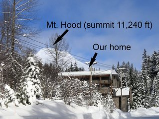 Best Views of Mt Hood Ski Bowl - Walk to Slopes and Everything in Village!