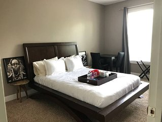 Cozy Private guest bedroom