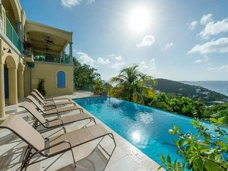 Exotic View - Under New Management. Beautiful 2 bedroom villa w/private pool.