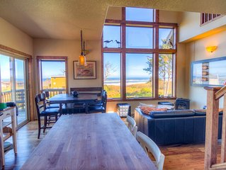 This Yachats ocean view from every room! Dog Friendly! FREE NIGHT!