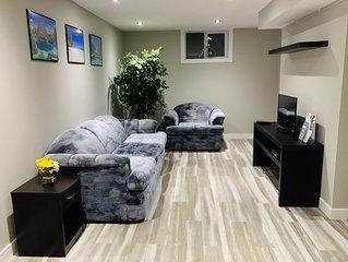 Newly Renovated 2-Bedroom Basement Suite in Saskatoon