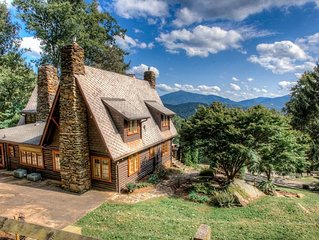 Laurel Falls; historic Asheville GEM, Nature, Privacy, Hot Tub! Awesome views, w