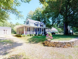 NEW LISTING! Family home on Main St. w/ screened porch & large yard - 1 dog OK!
