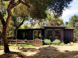 Cottage on Historic Topanga Ranch w/ Hot Tub