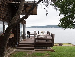 Whidbey Island  'Buddy's Beach House' - Amazing location on the beach