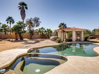 Oasis in central Scottsdale: Beautiful 3 bed(plus gym) home on huge lot w/pool!