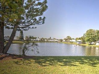 Updated modern villa on a beautiful lake