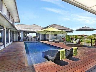 Hale Maluhia Estate at Poipu: Exquisite Home w/ AC and Beautiful Heated Pool