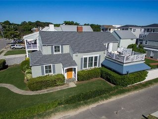 Charming oceanside beach home with detached garage apartment
