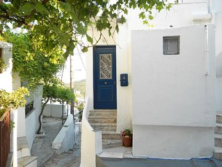 Eleimonitria house is waiting to host you in the heart of the Aegean Sea