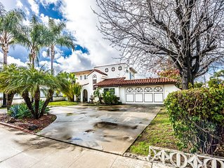 Near Disneyland & local Beaches! Relaxing, Comfortable, Spacious & kid approved