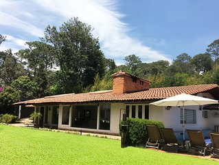 BEAUTIFUL HOUSE ONLY ONE LEVEL. Avándaro Golf Club. Dreamlike!!