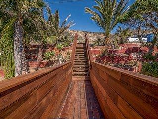 Oceanfront Malibu Private Beach House Retreat