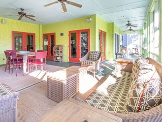 Large Pet Friendly Secluded Home on Private Road With Open Floor Plan and 2 Scre