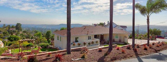 Vue spectaculaire à la maison pour votre séjour à San Diego!