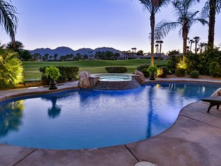 Luxury Salt Water Pool on Golf Course