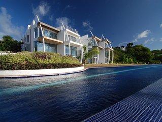 Contemporary Luxury 5 Bedroom Waterside Villa Lawn House 04
