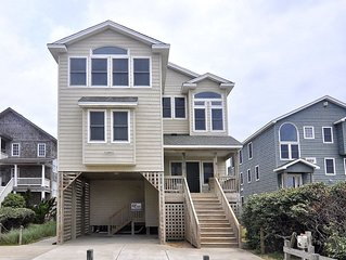 8BR True Oceanfront Nags Head - Elevator/Handicap Accessible/Private Pool