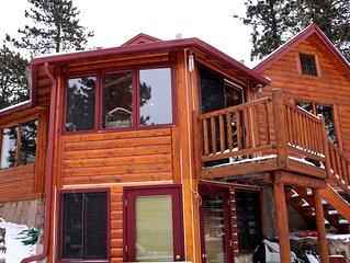 Mountain Masterpiece - Beautiful cabin on 2.2 acres at Wildbasin