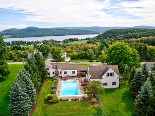 HEATED POOL~Otsego Lake View~Sleeps 13!