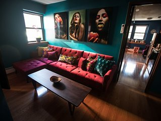Large 3BR/2BA Artists Apartment in the Coolest LES Area