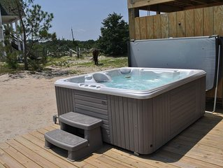 Week of 8/15-22 avail 4x4 Area, Canalfront, Hot Tub/Pets OK/Kayaks/Wildhorses