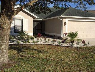 Pristine! Braden River Tropical Retreat Close to Beach,IMG, 45min-Tampa,90min-Or